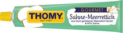 Thomy Gourmet Sahne-Meerrettich, mild, 190 g Tube