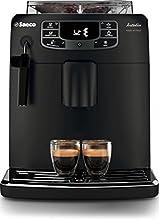 Saeco HD8900/01 Máquina espresso 1.5L Negro - Cafetera (Independiente, Máquina espresso, Negro, Taza, De plástico, Botones)