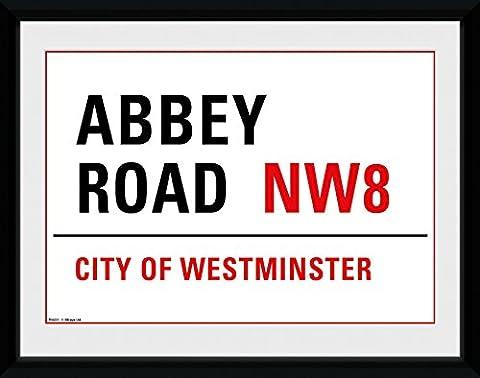 GB eye 8 x 6-inch Abbey Road Framed Photograph, Assorted