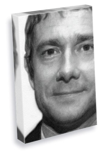 martin-freeman-canvas-print-large-a3-signed-by-the-artist-js003