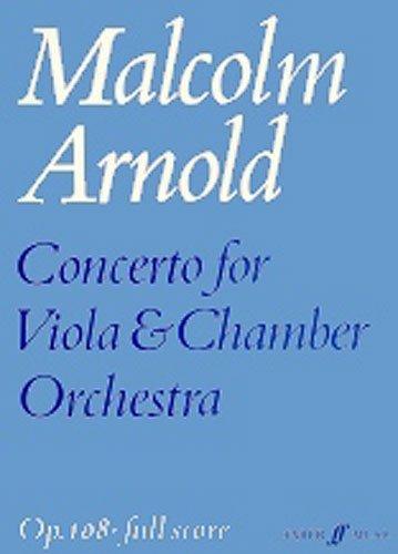 Concerto for Viola (score) (Faber Edition)