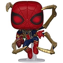 Funko- Pop Marvel: Endgame-Iron Spider w/NanoGauntlet Collectible Toy, Multicolor (45138)