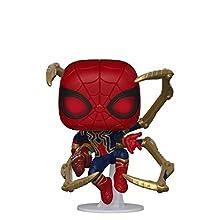 Funko 45138 POP Marvel: Endgame- Iron Spider w/NanoGauntlet Collectible Toy, Multicolour