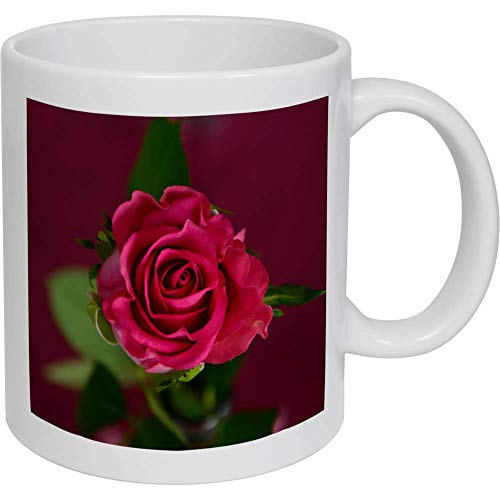 Azeeda 320ml 'Pinke Rose' Kaffeetasse / Becher (MG00002470)