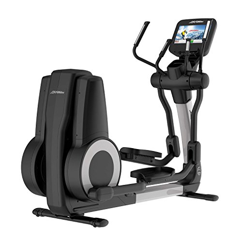 Life Fitness Platinum Club Series Cross Trainer with DISCOVER SE Console (Arctic Silver)