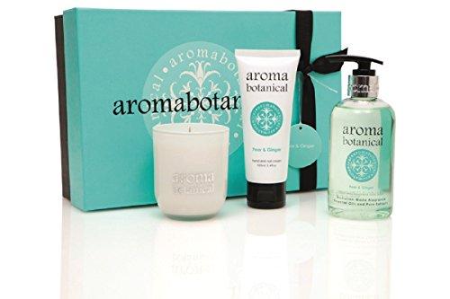 Aroma Botanical Pear & Ginger AromaSpa Pampering Gift Set