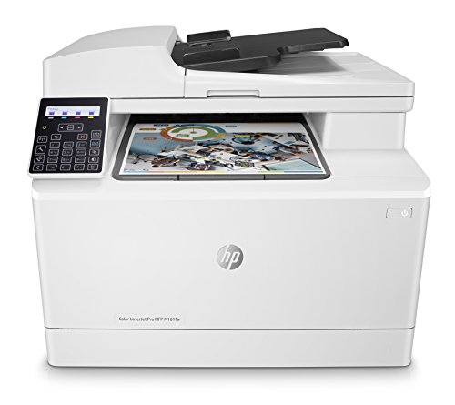 HP Color LaserJet Pro M181fw Multifunktions-Farblaserdrucker (Drucker, Scanner, Kopierer, Fax, WLAN, LAN, Airprint) weiß - Hp Laserjet Multifunktions-drucker