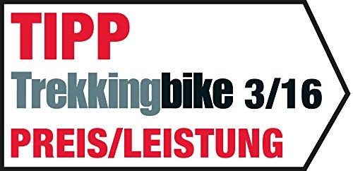 falk ibex 32 de Falk Fahrrad GPS Navigationsgerät Tiger PRO kapazitives Display 25 Länder Premium-Karte Fahrradhalterung gerät, Schwarz/Rot, OneSize