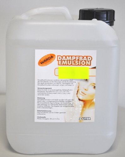 Warda Emulsion Eukalyptus 5l für das Dampfbad, entspannende Wirkung -