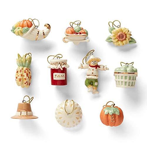 Lenox Deko-Set für Baum ohne Baum Autumn Favorites (Day Patricks St Miniaturen)