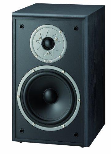 Magnat Monitor Supreme 200, Regallautsprecher, schwarz (1 Paar)