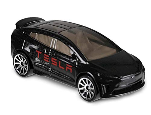 Hot Wheels' Tesla Model X - 1:64 - Farbe: Black Metallica (HW-Serie 5/10 Metro 2018)