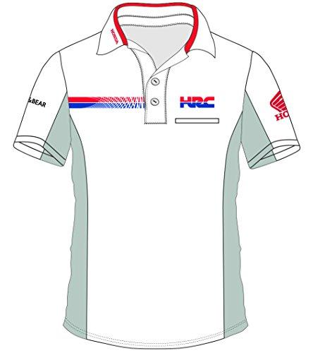 pritelli Honda HRC Team Moto GP Teamwear Replica Polo Camisa Oficial 2018,...
