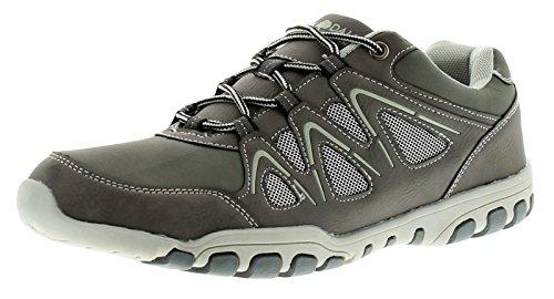 Herren Spitze Verschluss Lifestyle Schuhe - grau - UK Größen 6-12 - grau, 40 (Spitze Schiefer)