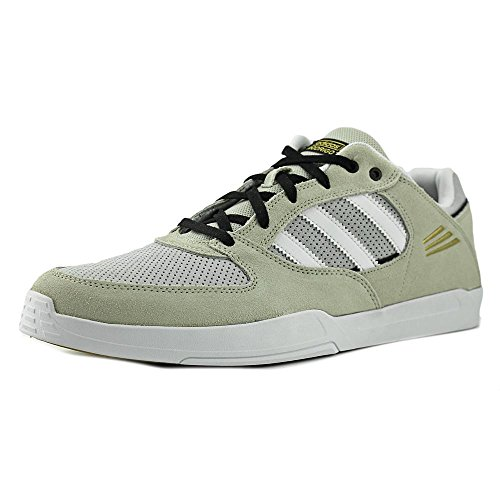 Adidas Tribute ADV Cuir Baskets Stone-White