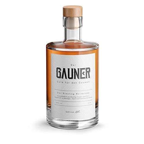 Gauner Brandy aus dem Rheingau – Riesling Weinbrand (1 x 500 ml)