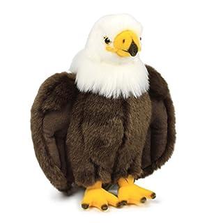 WWF Plüsch Kollektion WWF16122 - Plüschfigur Adler 23 cm, Plüschtiere