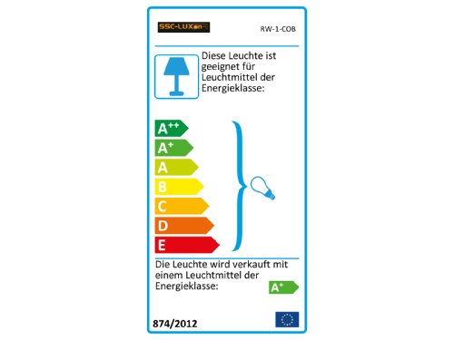 LED Einbau-Strahler Set [6 Stück] Decken-Leuchte, Typ RW-1 in weiß für Feuchträume Bad Dusche IP65, 6W WARM-weiß 230V [IHR VORTEIL: leichter EINBAU, tolle LEUCHTKRAFT, LICHTQUALITÄT und VERARBEITUNG] für Innen Außen – #980 - 2