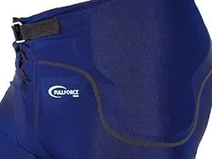Full Force All in One ff020829hommes Pantalon de jeu stretch avec 7Pads intégré XS  - Bleu foncé