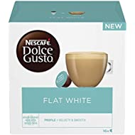 NESCAFÉ DOLCE GUSTO Flat White Coffee Pods, 16 Capsules (16 Servings)