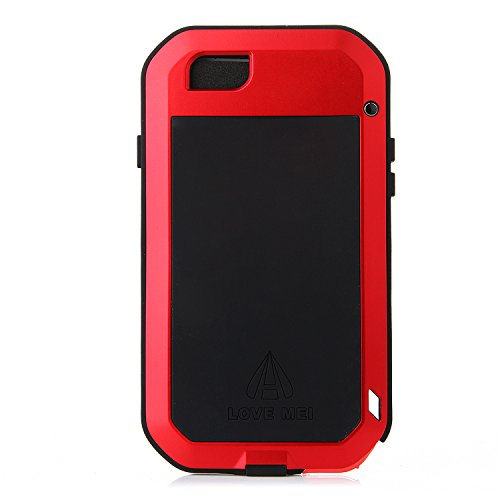 Original Schutzhülle/Hülle/Etui/Autoschondecke Aluminium Metall wasserdicht stoßfest staubdicht Nachhaltige für 4,7Zoll iPhone 6Smartphone rot