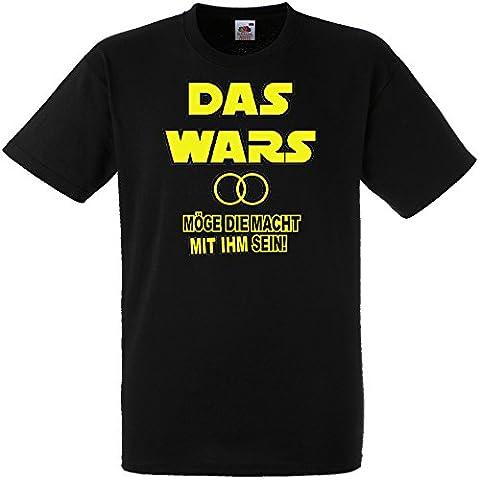 Herren T-Shirt für den Junggesellenabschied mit Motiv Das Wars -