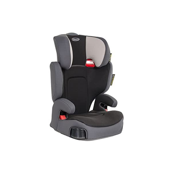 Graco Assure Group 2/3 Car Seat - Aluminium Graco Side impact protection for head, lower back and hips Five position height adjustable headrest and padded armrests for extra comfort Lightweight and easy to transfer from car to car 2