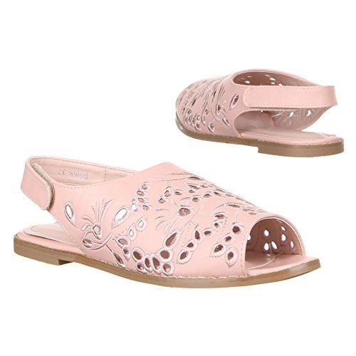 Damen Schuhe SANDALEN LUFTIG LEICHTE SOMMERSANDALEN 36 – 41 Rosa