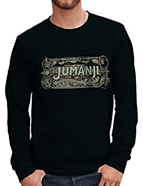Felpa Girocollo JUMANJI GAME BOX - FILM by Mush Dress Your Style