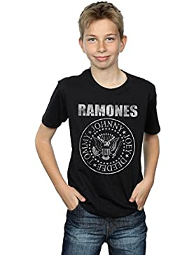 Ramones niños Distressed Seal Camiseta