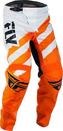 Fly Racing F-16 Motocross Hose Kids, orange-weiß, Größe: 28s, MX Pant Mountainbike MTB Fly Motocross Hose
