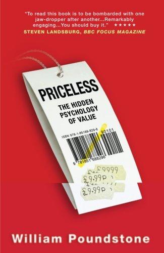 Priceless por William Poundstone