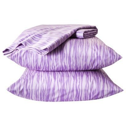 xhilaration-zebra-easy-care-sheet-set-full-lavender-by-xhilaration