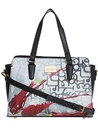 Satya Paul Women's Tote Bag (Multicolor)