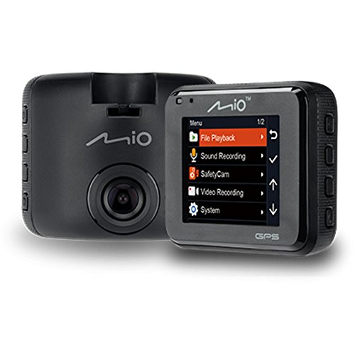 Mio MiVue C330 - Full HD 1080p In Car Dash Cam and DVR with GPS and Speed Camera Detection