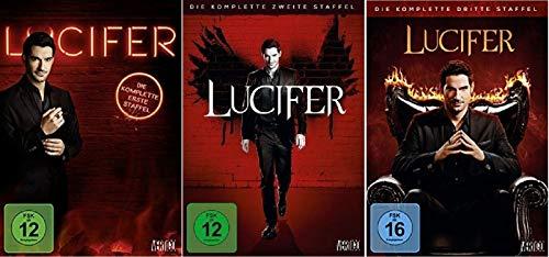 Lucifer Staffel 1-3 (1+2+3, 1 bis 3) Die Serie [DVD Set]