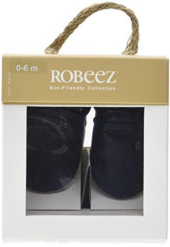 TG-23-24-EU-Robeez-Myfirst-Pantofole-Unisex-Bimbi-Blu-Marine-Perm-10-23 miniatura 6