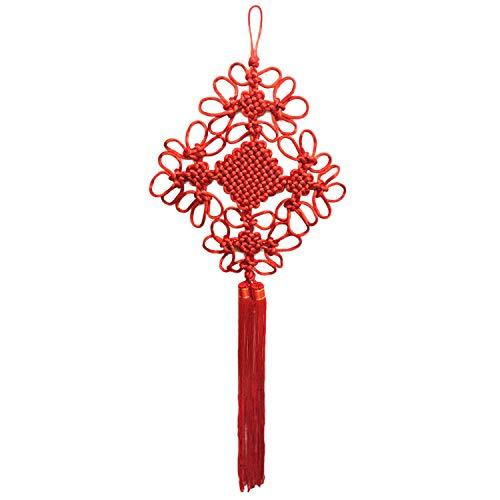Chinesische Knoten-Verzierung,Chinesischer Knoten,Glück chinesischer knoten hängende dekoration verzierung für neue jahr frühlingsfest hochzeit home auto stil c