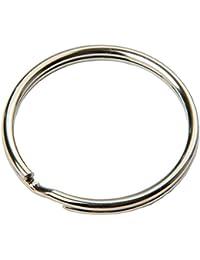 Van den Heuvel Petit anneau brisé avec embout en plastique 100 Stk. (Durchmesser: 25 mm)
