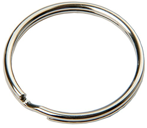 mini porte clés anneaux de clés 15 mm flexible brillant 100