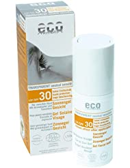 Eco Cosmetics Gesichtssonnengel LSF 30 transparent 30ml