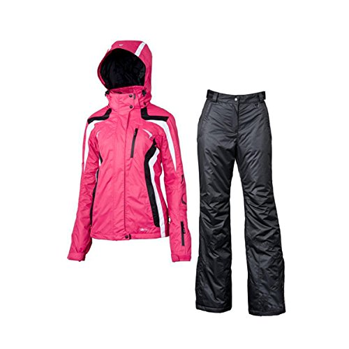 V3TEC Umeko Skianzug Set Women - pink/white/black