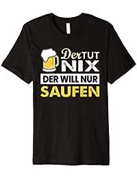 Party Sauf Polter TShirt: Der tut nix, der will nur ein Bier