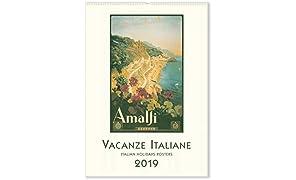 2019 Wall Calendar, Vacanze Italiane