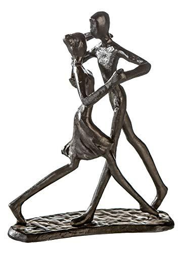 Casablanca - Design-Skulptur Dancing - aus Eisen - brüniert H 17 cm