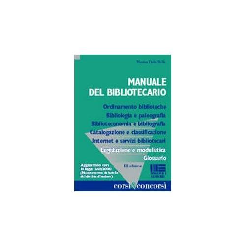 Manuale Del Bibliotecario