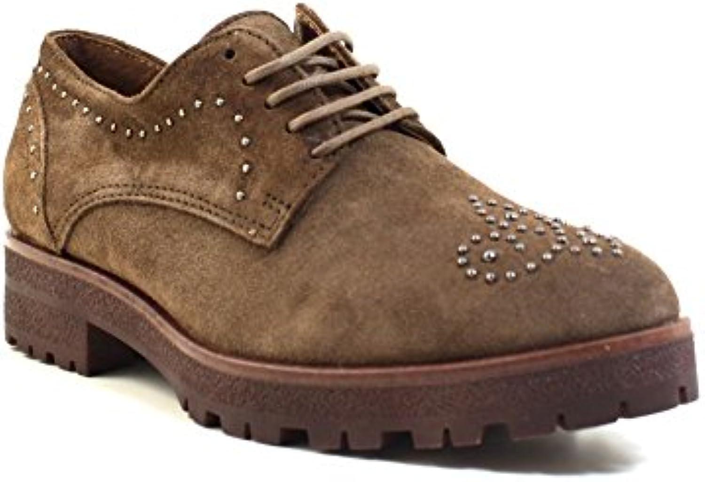 Alpe, Zapatos con tachuelas, zapatos mujer, taupe, 39 (EU)