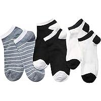XMDNYE 6Pcs = 3 Paar Männer Söckchen Herren Business Casual Kurze Socken Männliche Socke Flachen Mund Socken