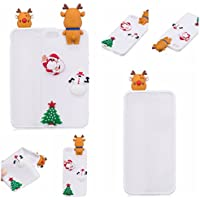 Shinyzone iPhone 5S/5 Hülle Weihnachten,iPhone SE Silikon Hülle-3D Niedlich Design Weiche TPU Rückseite [Rutschfest... preisvergleich bei billige-tabletten.eu