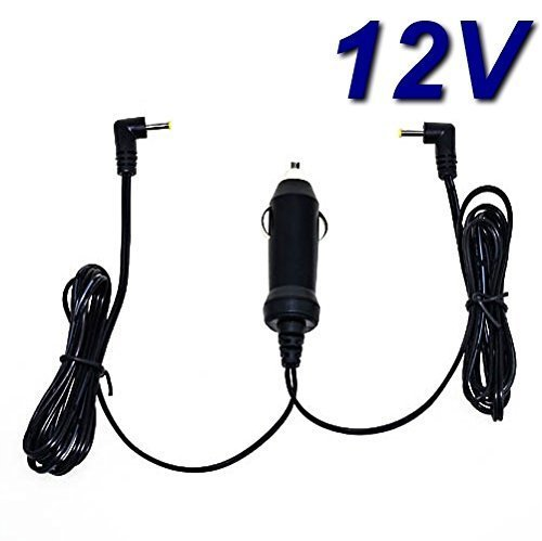 TOP CHARGEUR * Chargeur Voiture Allume Cigare 12V pour Lecteur DVD Portable Thomson TWIN700